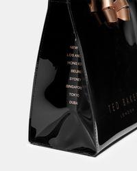 Ted Baker - Black Kriscon Small Shopper - Lyst