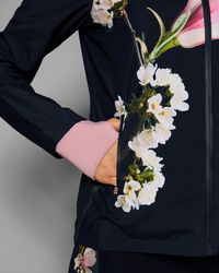 Ted Baker Blue Harmony Hooded Jacket