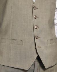 Ted Baker - Multicolor Debonair Slim Plain Wool Waistcoat for Men - Lyst