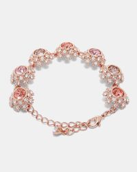 Ted Baker - Pink Tbj1581 Daisy Lace Bracelet - Lyst