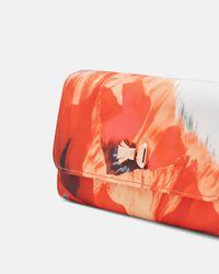 Ted Baker - Multicolor Playful Poppy Evening Bag - Lyst