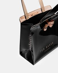 Ted Baker - Black Kriscon Small Shopper - Lyst