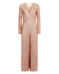 Temperley London - Pink Tiara Jumpsuit - Lyst