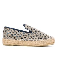 Ash | Metallic Two-coloured Espadrillas | Lyst