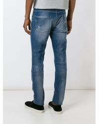"Philipp Plein | Blue ""positano"" Jeans for Men 