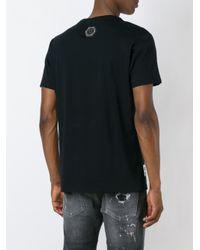 "Philipp Plein   Black ""cloud Lake"" T-shirt for Men   Lyst"