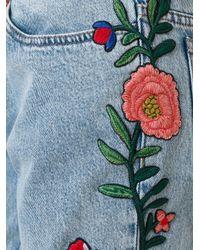 Gucci | Blue Stonewash Mid-rise Flared Jeans | Lyst