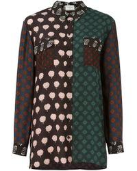 Lanvin | Multicolor Shirt With Print | Lyst