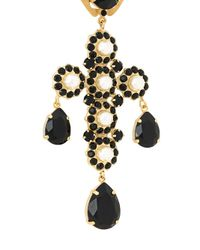 Dolce & Gabbana - Multicolor Embellished Necklace - Lyst