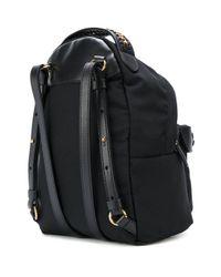 Stella McCartney - Black Mini Falabella Go Backpack - Lyst