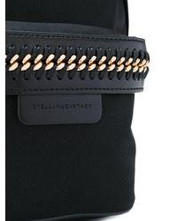 Stella McCartney - Black Falabella Mini Nylon Backpack - Lyst