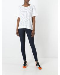 "Adidas By Stella McCartney - Blue ""train Miracle"" Tight - Lyst"
