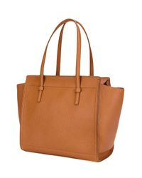 Ferragamo | Brown 'amy' Tote | Lyst