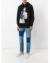 Ih Nom Uh Nit - Multicolor Printed Cotton Hoodie for Men - Lyst