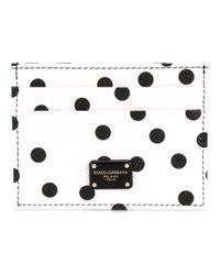 Dolce & Gabbana - Multicolor Pois Card Holder for Men - Lyst