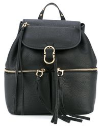 Ferragamo - Black 'carol' Backpack - Lyst