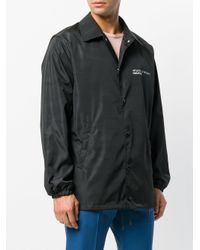 Valentino Black Anywhen Print Lightweight Jacket for men