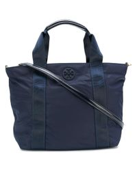 Tory Burch - Blue Quinn Nylon Small Handbag - Lyst