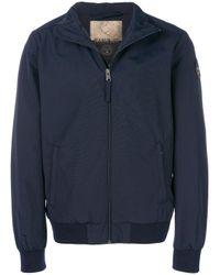 Napapijri - Blue Cotton Jacket for Men - Lyst