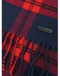 DSquared² - Red Wool Scarf for Men - Lyst
