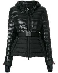 lyst moncler grenoble 39 bruche 39 winter jacket in black. Black Bedroom Furniture Sets. Home Design Ideas