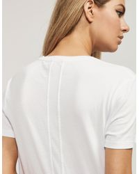 Calvin Klein - White Re-issued Shrunken T-shirt - Lyst