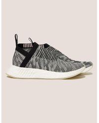 70180ce8333b6 Lyst - adidas Originals Nmd City Sock Women s in White