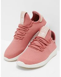 a43b18f26 adidas Originals. Womens Pharrell Williams Tennis Hu Trainers Women s Pink