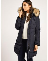 Parajumpers. Women's Blue Light Long Bear Jacket
