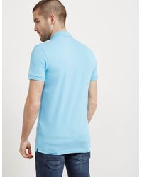BOSS - Mens Passenger Short Sleeve Polo Shirt Blue for Men - Lyst