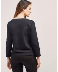 Armani Jeans | Black Crew Neck Sweater | Lyst