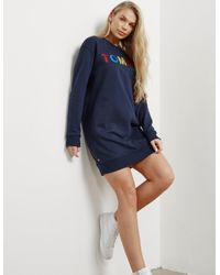 7ac30fda937e Tommy Hilfiger. Blue Womens Sweater Dress Navy ...