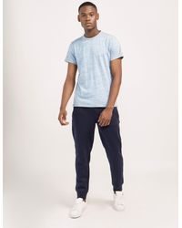Armani Jeans | Blue Cuff Track Pant for Men | Lyst