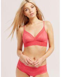 Calvin Klein - Pink Radical Bralette - Lyst