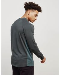 Champion - Gray Mens X Wood Wood Madness Long Sleeve T-shirt Charcoal/charcoal for Men - Lyst