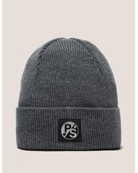 Paul Smith - Gray Merino Wool Beanie for Men - Lyst