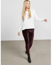 Rag & Bone - Womens Theo Long Sleeve T-shirt - Online Exclusive White - Lyst