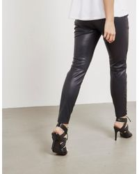 BOSS - Womens Biker Leggings - Online Exclusive Black - Lyst