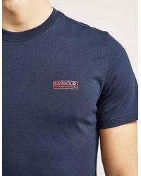 Barbour | Blue International Short Sleeve Logo T-shirt for Men | Lyst
