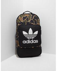 Lyst - adidas Originals Mens Street Backpack Camo for Men 0f44facdff