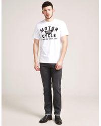 Barbour - White International Wings Short Sleeve T-shirt for Men - Lyst