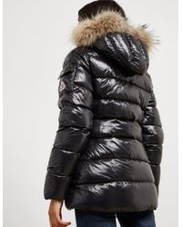 Pyrenex - Womens Authentic Padded Shiny Jacket Black - Lyst