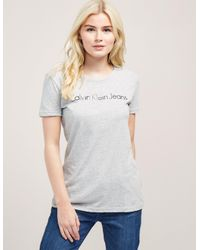 Calvin Klein | Gray Tamar 43 Short Sleeve T-shirt | Lyst