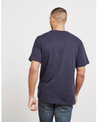 Calvin Klein - Mens Monogram Short Sleeve T-shirt Navy Blue for Men - Lyst