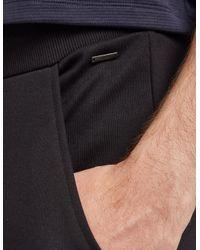 HUGO - Mens Darlton Cuffed Track Pants Black for Men - Lyst