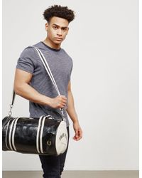 Fred Perry - Mens Classic Barrel Holdall Black for Men - Lyst