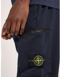 Stone Island | Blue Basic Track Pants for Men | Lyst