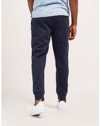 Armani Jeans - Blue Mens Cuffed Track Pants Navy for Men - Lyst