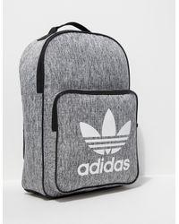 025480ba21effd Lyst - adidas Originals Mens Classic Backpack Grey in Gray for Men