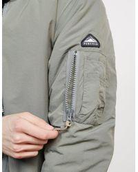Penfield - Gray Mens Cirrus Primaloft Bomber Jacket Grey for Men - Lyst